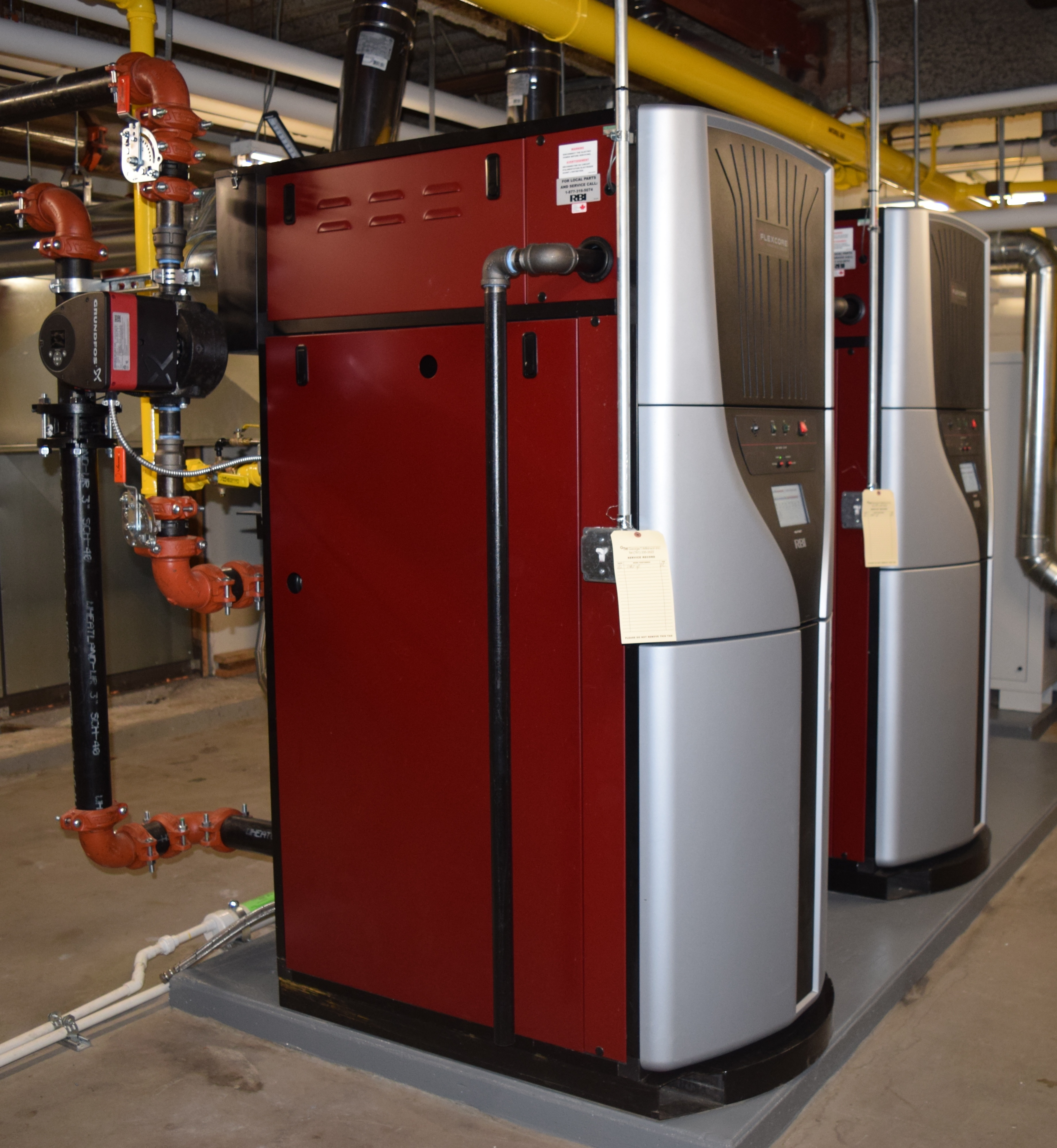 Focus On Efficiency With The Flexcore Firetube Boiler
